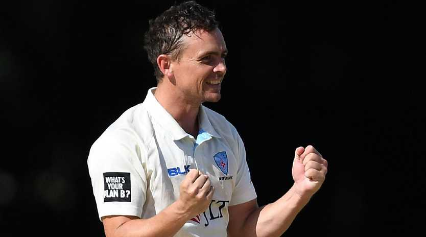 Steve O'Keefe put in a man-of-the-match performance for NSW. Picture: AAP