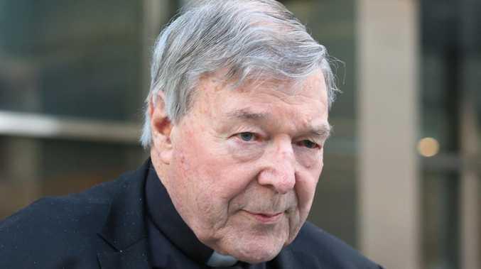 Cardinal George Pell is seen in Melbourne. Picture: David Crosling/AAP