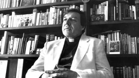 Cardinal Pell (seen here in 1988 when he was Bishop of Melbourne) has always denied wrongdoing.