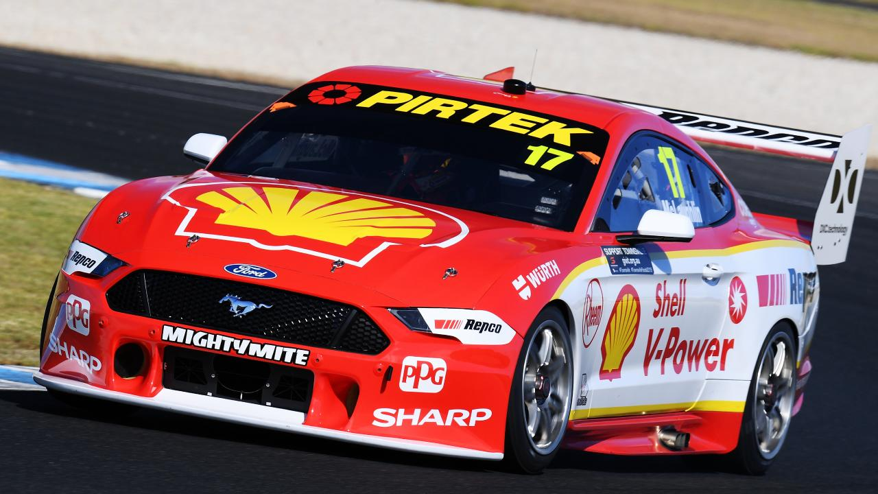 Scott McLaughlin drives the #17 Shell V-Power Racing Team Ford Mustang during the Supercars Season Test Day at Phillip Island in February, 2019. Picture: Daniel Kalisz/Getty Images