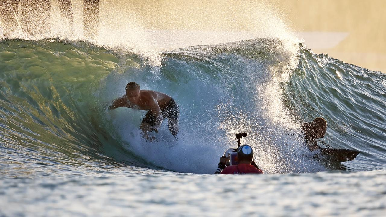 The surf lake will feature five different waves of various size and difficulty. Picture: Supplied.