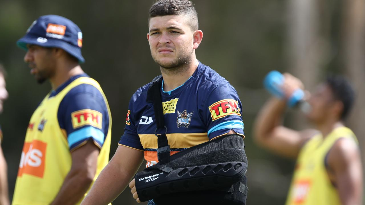 The pressure is on Ash Taylor to deliver this season. (Jason O'Brien)