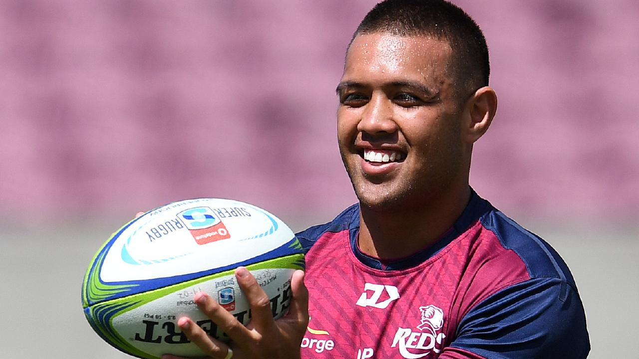 Reds star Duncan Paia'aua is off to France at the end of the season. Picture: AAP