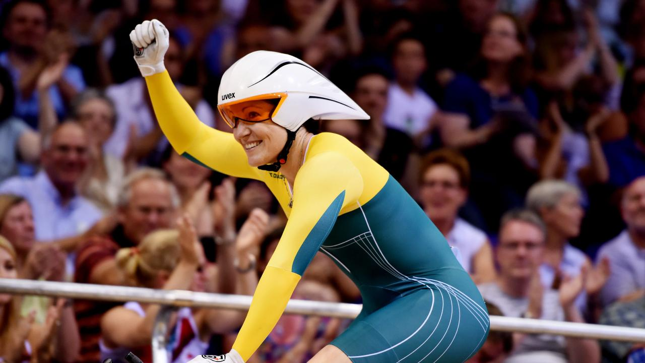 Australian golden girl Anna Meares is the ambassador for the Brisbane Cycling Festival. Picture: AAP