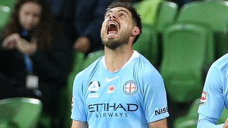 Melbourne City has finally swung the axe on star striker Bruno Fornaroli. Picture: AAP