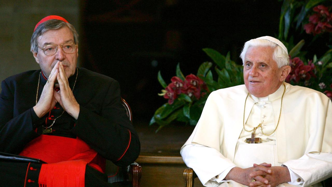 Pell is the biggest scalp in the whole rotten Vatican. Picture: Getty