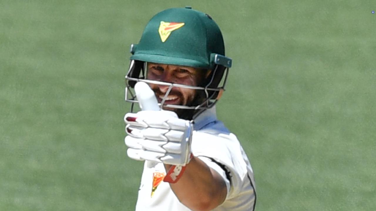 Matthew Wade has been in tremendous form for Tasmania in the Sheffield Shield. Picture: AAP