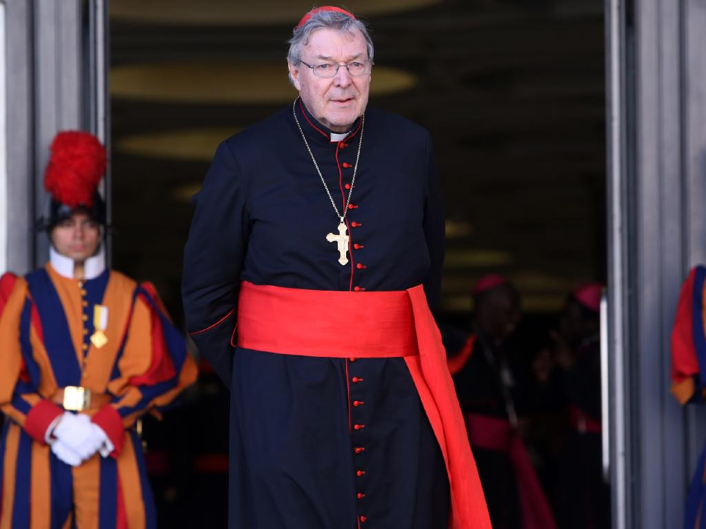 It's unclear whether Cardinal Pell will be able to return to the Vatican. Picture: Franco Origlia/Getty Images