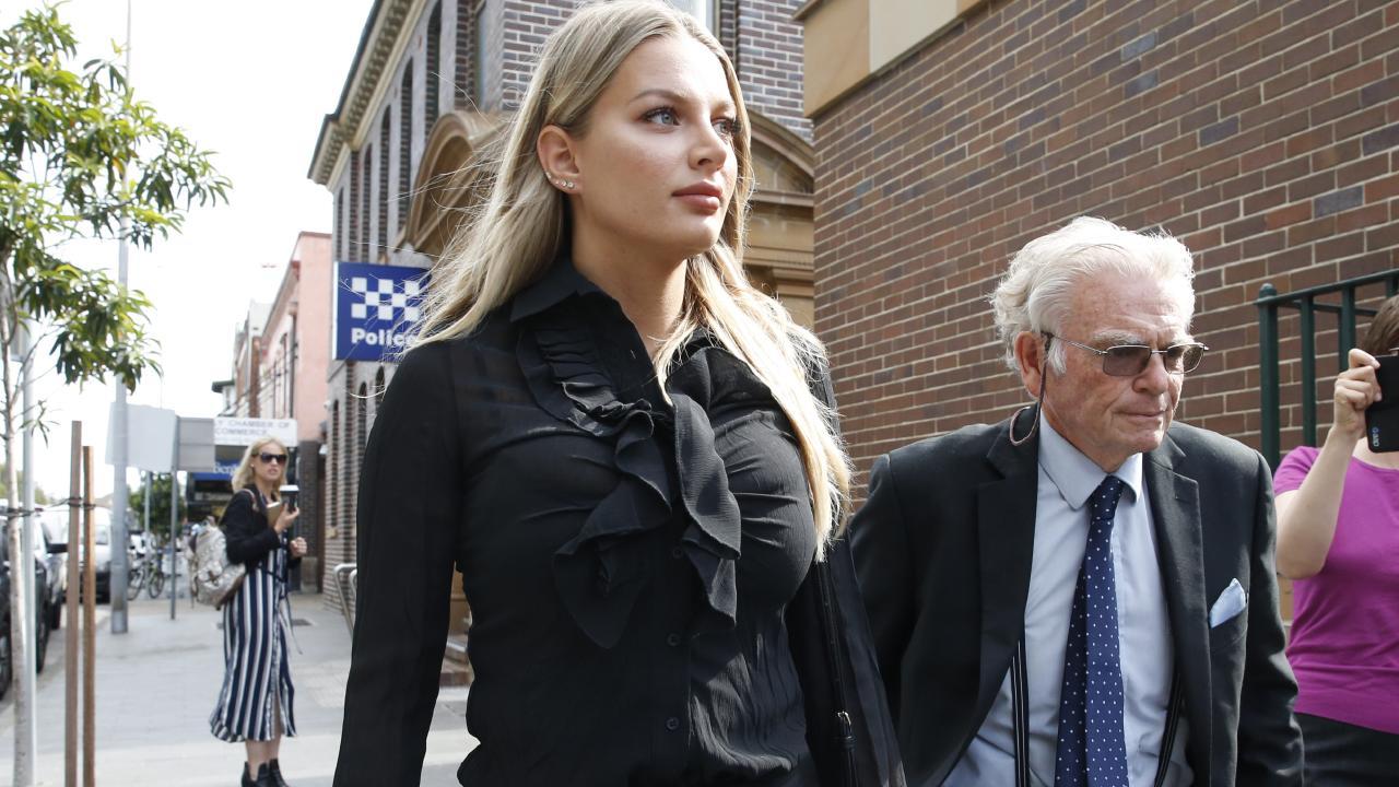 Alexandra Ivkovic at a previous court hearing.