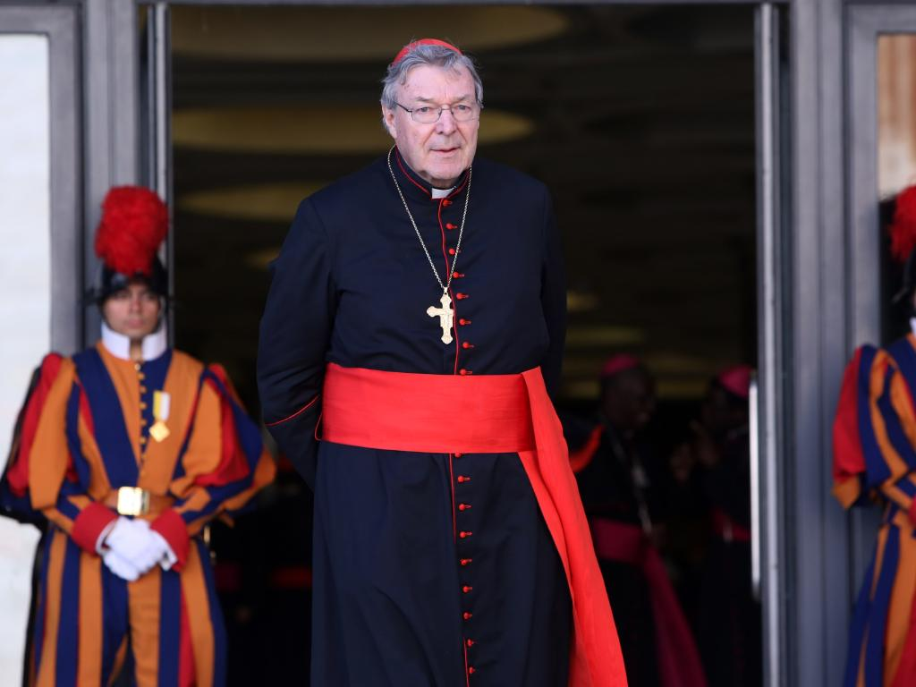 Cardinal George Pell at the Vatican in 2012.