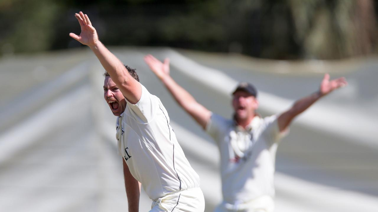 Jon Holland tore through Queensland in the second innings. Picture: AAP