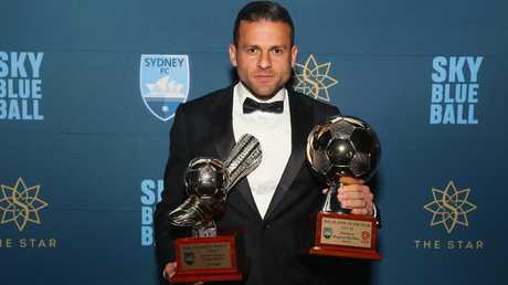 The Brazilian cleaned up in the A-League. (Don Arnold/Getty Images)