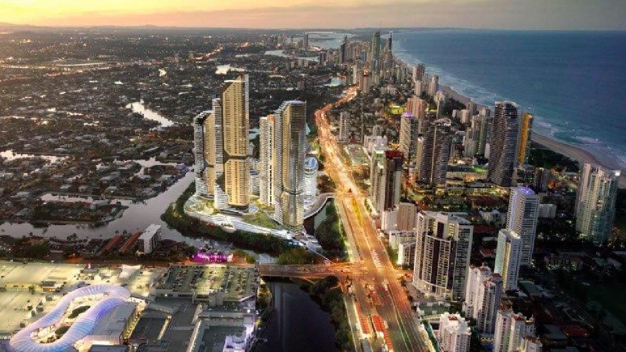 The Star Gold Coast Masterplan Development.