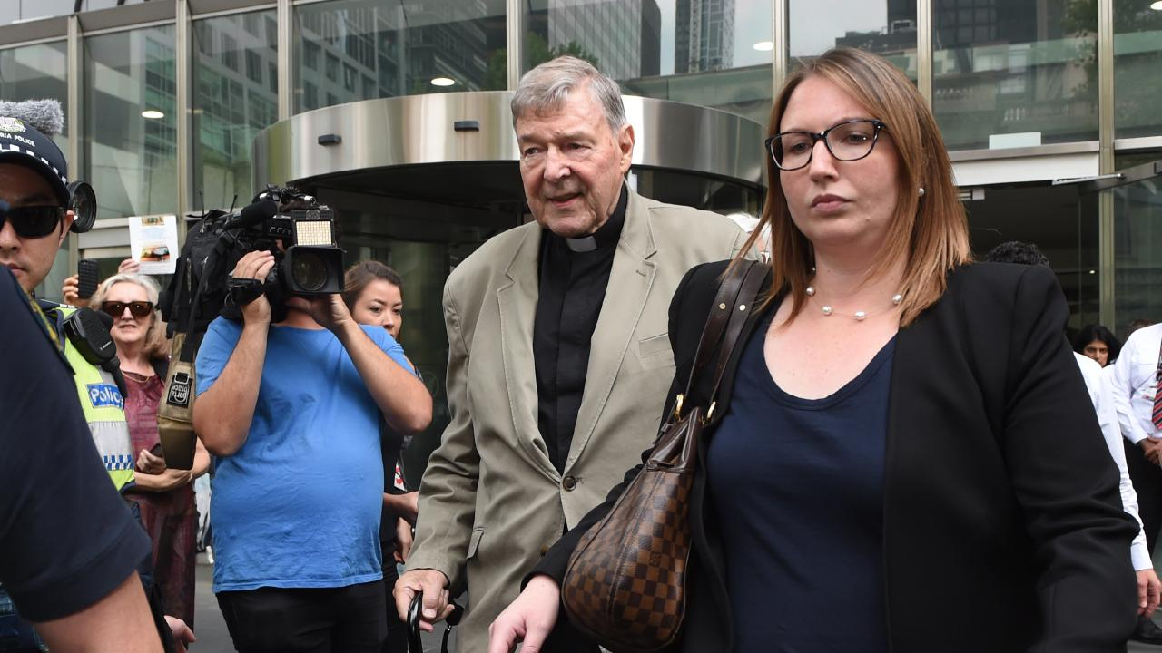 George Pell has been found guilty of historical sex abuse. Picture: Tony Gough