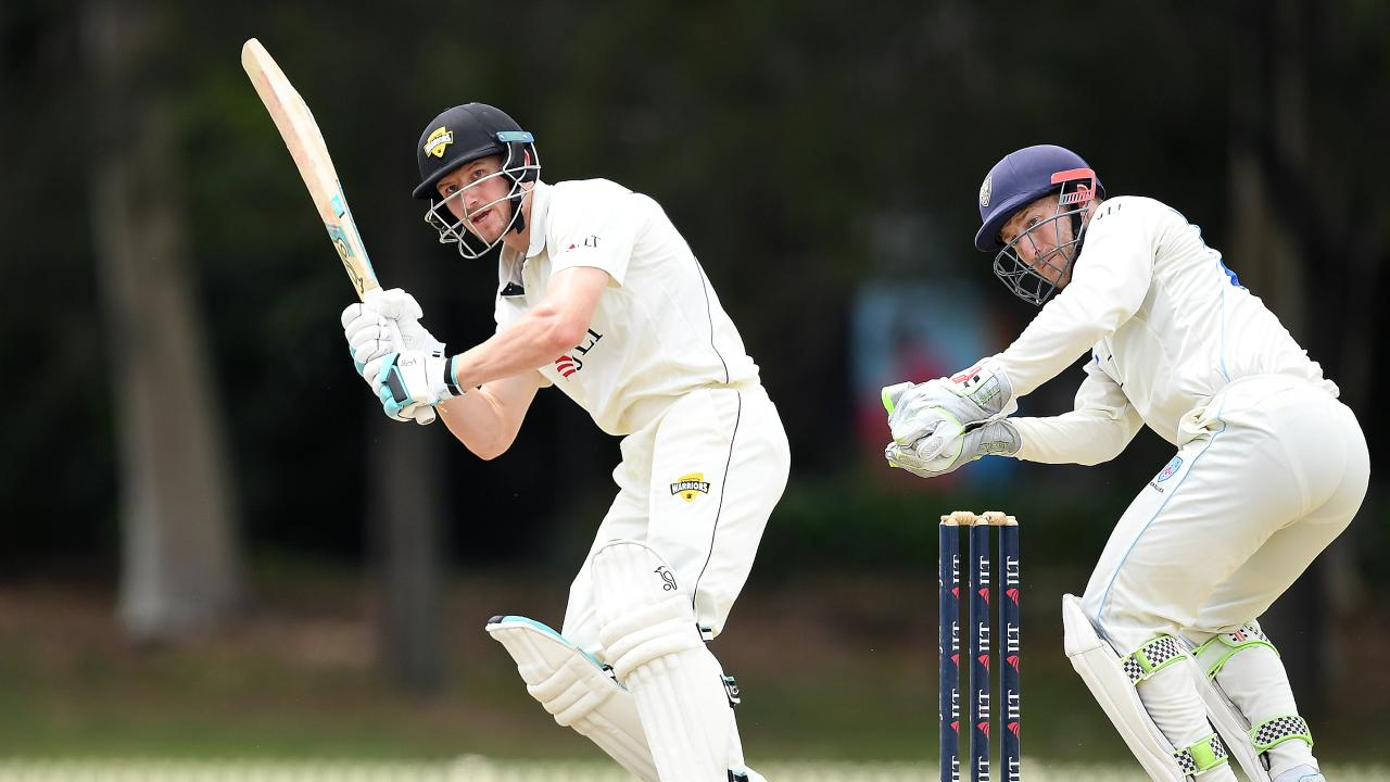 Bancroft batted for a staggering 621 balls across the four days. Picture: AAP