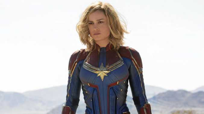 Brie Larson portrays Carol Danvers, a US Air Force officer who becomes one of the universe's most powerful heroes, in Captain Marvel.