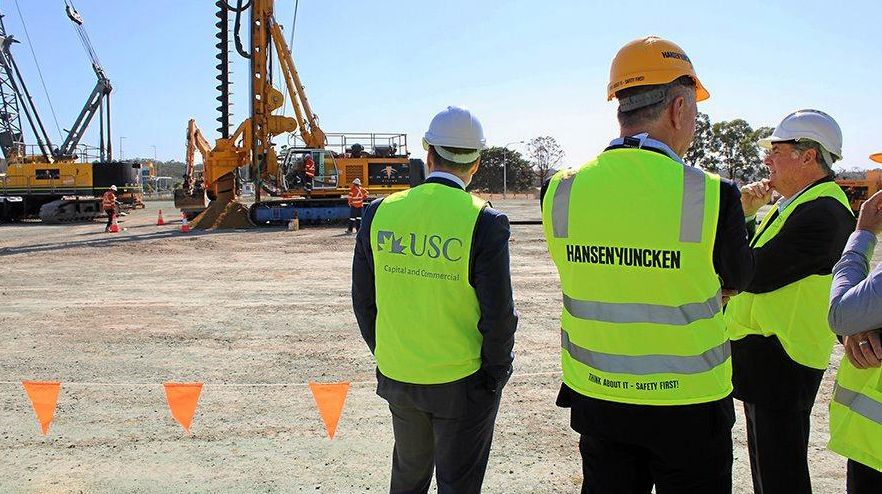 The University of the Sunshine Coast says there are no issues with PFAS at its Moreton campus construction site at Petrie despite the adjacent property being one of 60 places named on a Department of Science watch list.