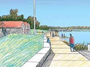 How money from the new jail is helping Grafton's river front
