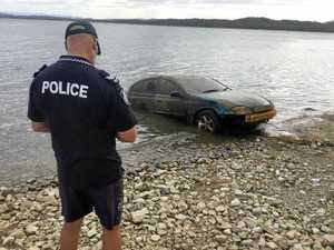 Stolen car found submerged at Awoonga Dam
