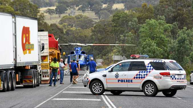 New England Highway was named one of the most dangerous roads in the state.