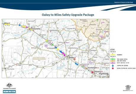 DELAYS: Motorists can expect delays along the Warrego Hwy between Oakey and Miles in the coming months as $75 million in road widening works is carried out.