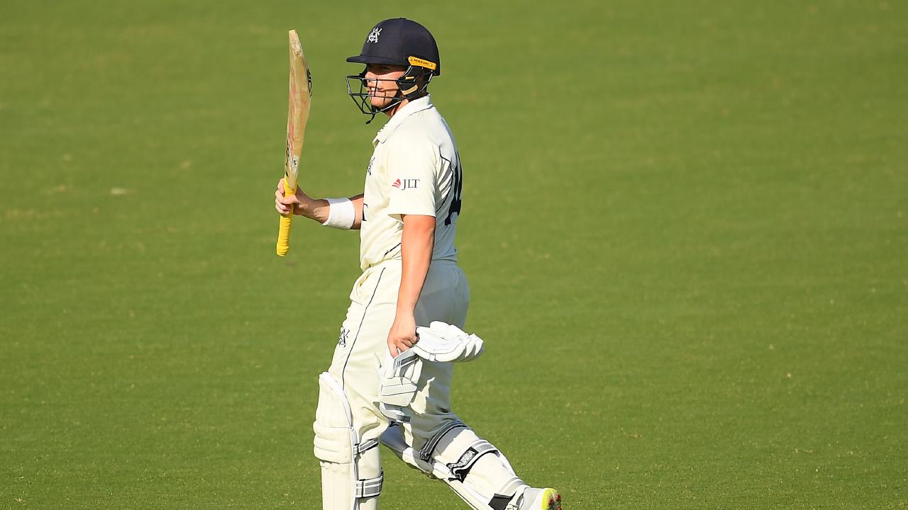 Marcus Harris backed his first innings 95 against Queensland up with 174 off 197 balls in the second.