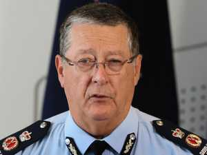 Questions over timing of top cop's exit