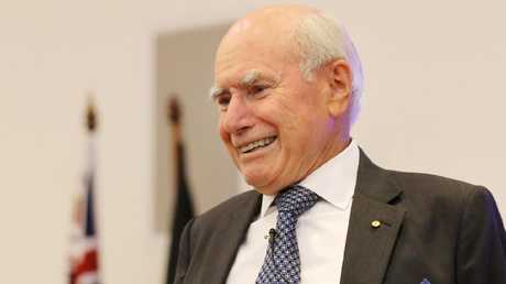 Former prime minister John Howard wrote George Pell a character reference. Picture: Richard Dobson