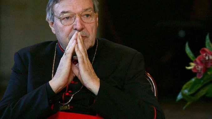 Reporting restrictions were lifted after a separate case against Pell, relating to allegations he groped boys in a Ballarat swimming pool, was dropped. Picture: World Youth Day via Getty Images