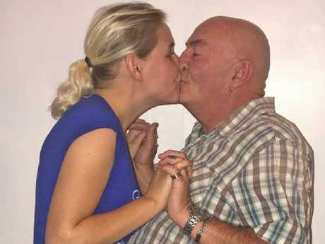 Laura said her 62-year-old fiance, Steve, is 'everything I've ever wanted'.