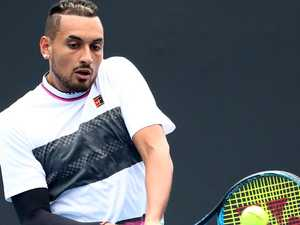 Kyrgios blasts past Open rival