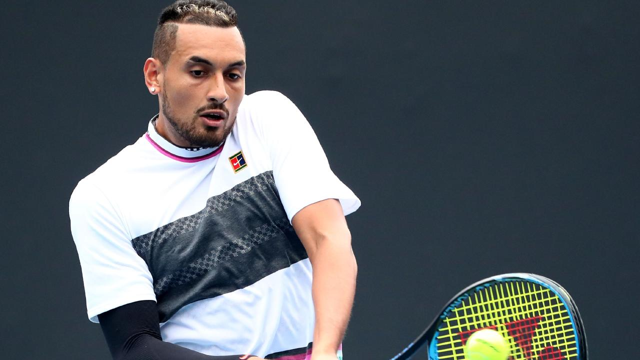 Nick Kyrgios found his groove.