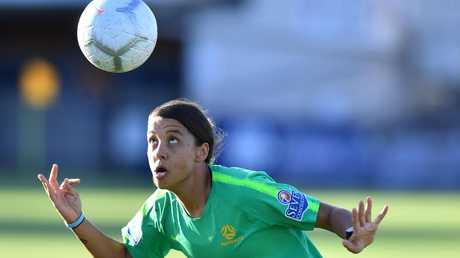 Sam Kerr has been named captain of the Matildas.