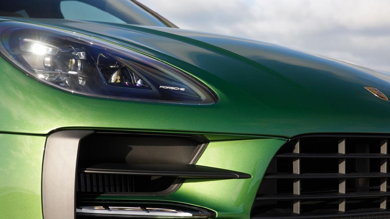 The Porshce Macan will be the brand's first electric SUV.
