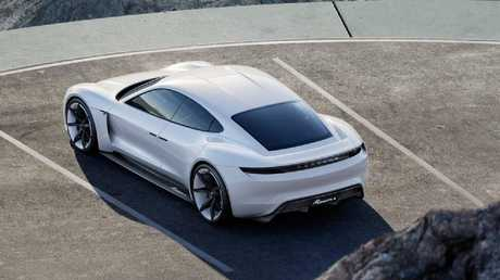 The Porsche Taycan is due to go on sale in Australia next year.