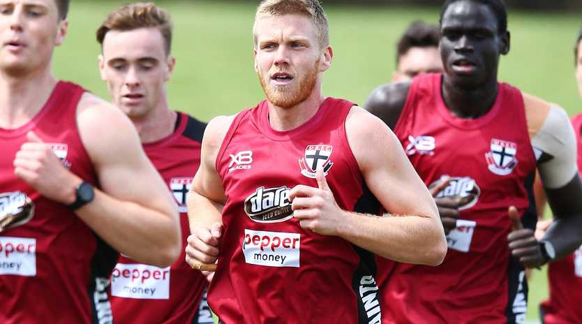 Dan Hannebery's commitment has been questioned. (Photo by Michael Dodge/Getty Images)