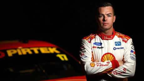 Scott McLaughlin, driver of the #17 Shell V-Power Racing Team Ford Mustang, has had a weight lifted off his shoulders after winning the 2018 Supercars championship. Picture: Daniel Kalisz