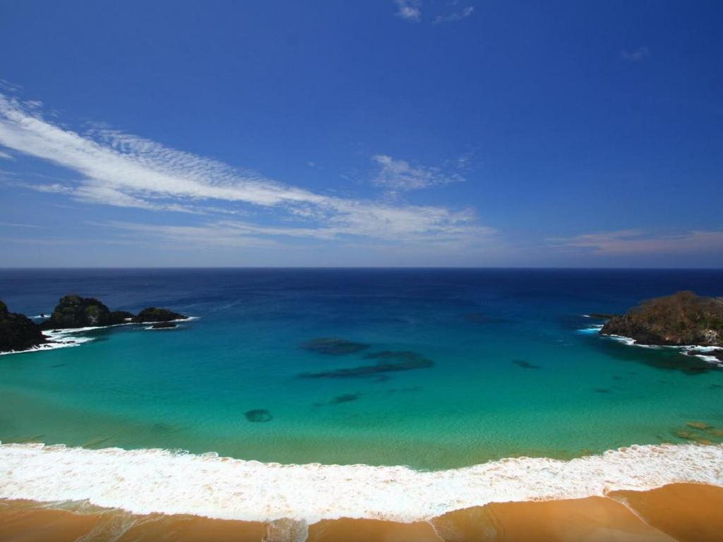 Brazil's Baia Do Sancho was voted the 2019 best beach in the world.
