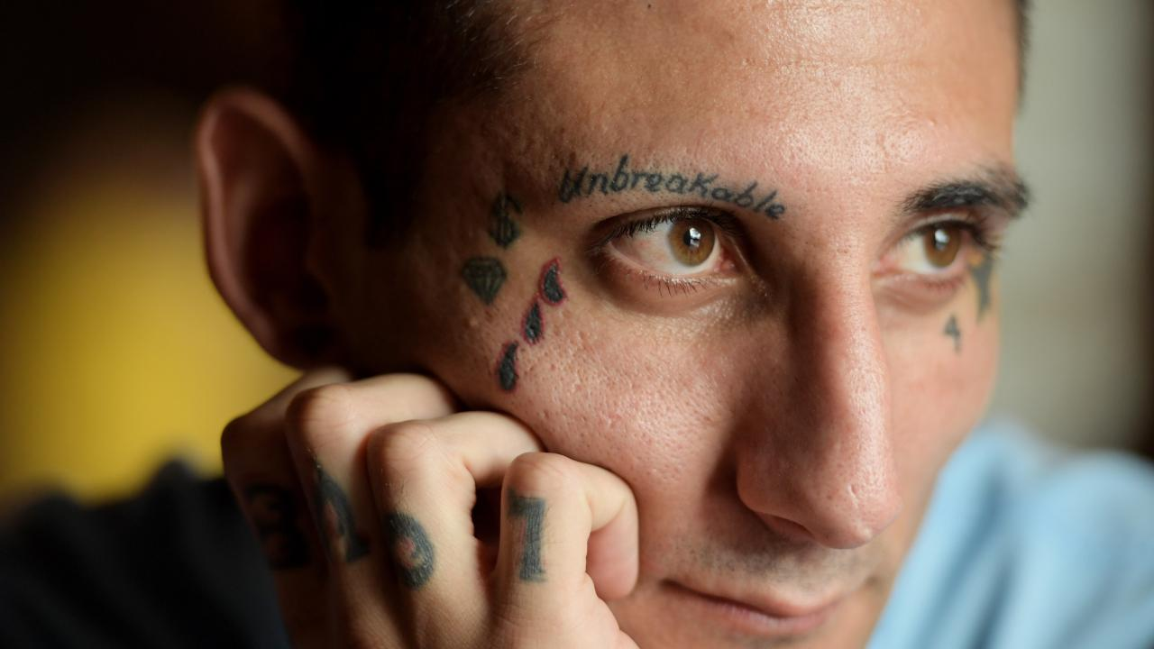 Bulut hopes to have his ban — and perhaps his tattoos — reduced. (Tracey Nearmy)