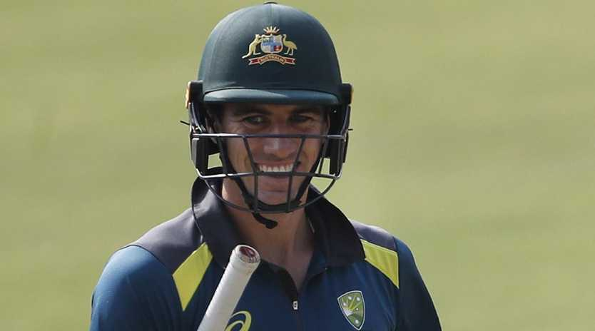 With bat or ball, Pat Cummins is showing the way for the Aussies.