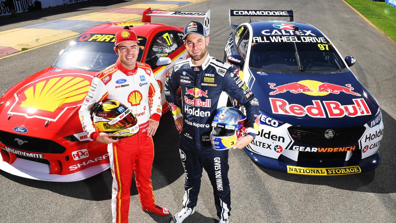 Reigning champion Scott McLaughlin will lead Ford's charge against Shane van Gisbergen and Holden. (Image AAP/Mark Brake)