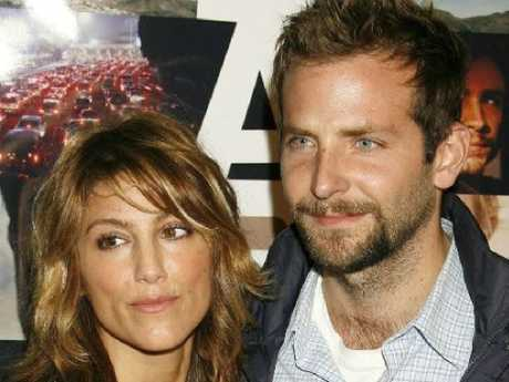 Bradley Cooper and his former wife Jennifer Esposito. Picture: Supplied