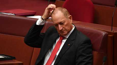 Independent Senator Fraser Anning is attempting to register a party called Fraser Anning's Conservative National Party. Picture AAP Image/Mick Tsikas