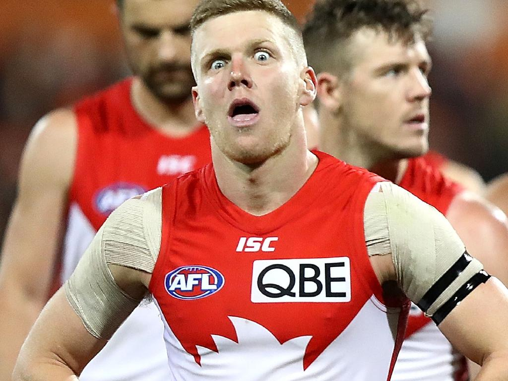 Dan Hannebery is reportedly still giving Sydney some laughs.