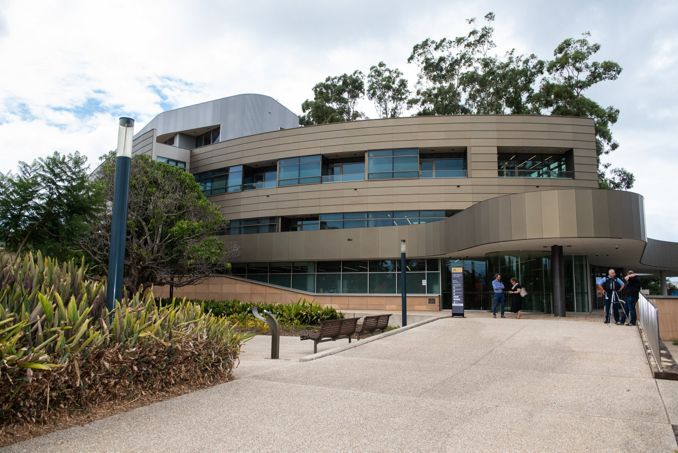 The Coffs Harbour Court House.