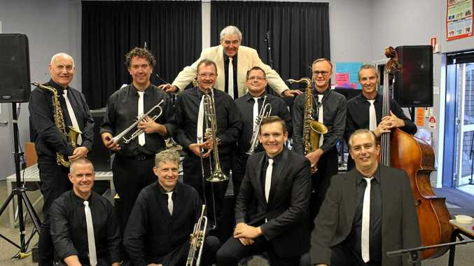 SMOOTH TUNES: The Inter-State Swing Band is a 10-piece band of musicians and singers performing at the Sunshine Coast Jazz Club on March 17 at 1.30pm at the Caloundra Power Boat Club, Golden Beach.