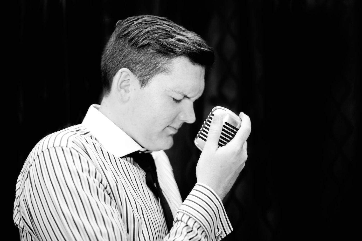 STORYTELLER: Jazz vocalist and trumpeter Simon Drew has an upcoming gig in Maroochydore.