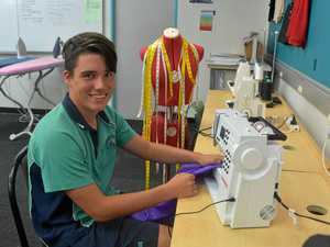 Sewing his way to design world