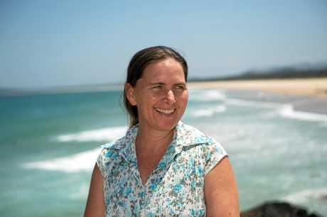 Independent candidate for the NSW seat of Coffs Harbour Dr Sally Townley.