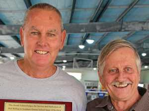 Efforts honoured after mates clock up 70 years of service